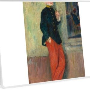 The Young Soldier oil Painting by Auguste Renoir Laptop Skins