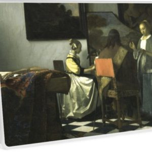 Stolen Art - The Concert by Johannes Vermeer Laptop Skins