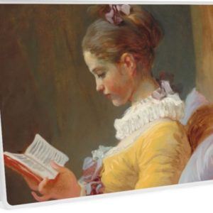 Young Girl Reading Painting by Jean-Honoré Fragonard Laptop Skins