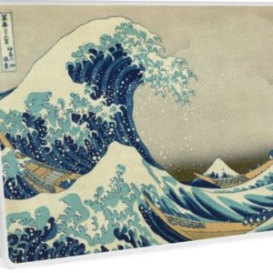 The Classic Japanese Great Wave off Kanagawa by Hokusai Laptop Skins
