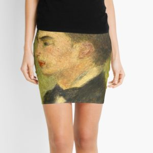 Georges Rivière Oil Painting by Auguste Renoir Mini Skirts