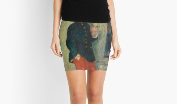 The Young Soldier oil Painting by Auguste Renoir Mini Skirts