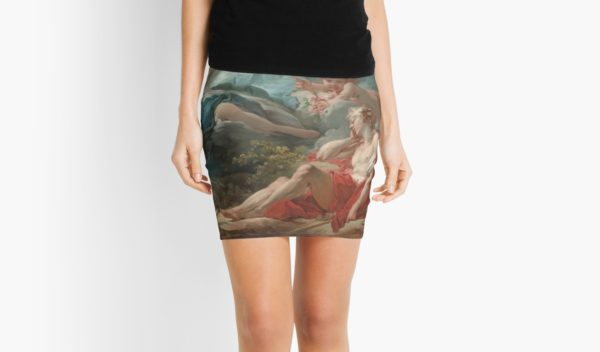 Diana and Endymion Oil Painting by Jean-Honoré Fragonard Mini Skirts