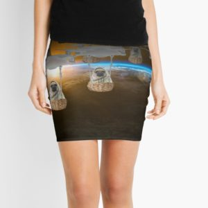 Pugvasion Alien Invasion by Drone Mini Skirts