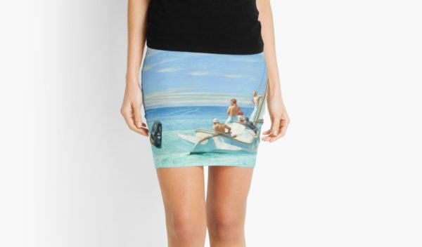 Ground Swell Oil Painting by Edward Hopper Mini Skirts