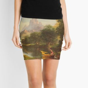 The Voyage of Life Youth Painting by Thomas Cole Mini Skirts
