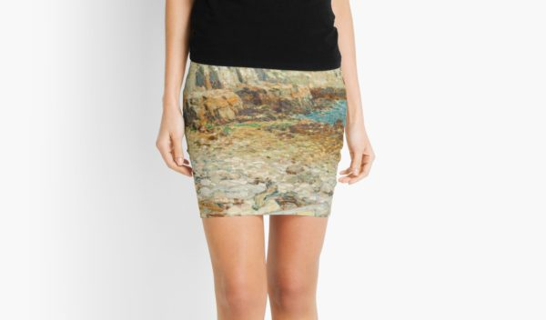 A North East Headland Oil Painting by Childe Hassam Mini Skirts