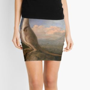 The Kongouro Oil Painting by Australian Artist George Stubbs Mini Skirts