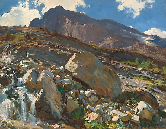 Simplon Pass Oil Painting by  John Singer Sargent Photographic Prints