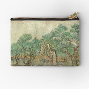 The Olive Orchard by Vincent van Gogh - Classic Art Studio Pouches