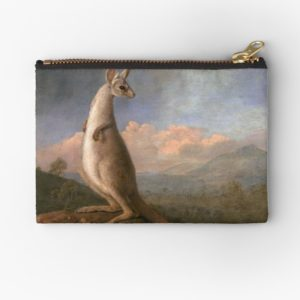 The Kongouro Oil Painting by Australian Artist George Stubbs Studio Pouches