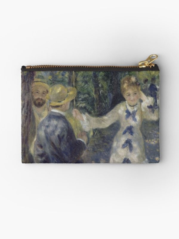 The Swing Oil Painting by Auguste Renoir Studio Pouches