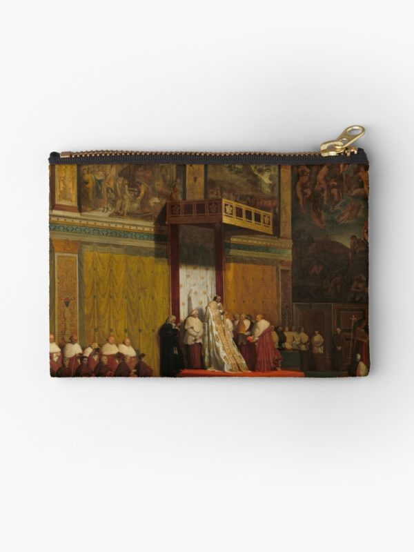 Pope Pius VII in the Sistine Chapel Oil Painting by Jean-Auguste-Dominique Ingres Studio Pouches