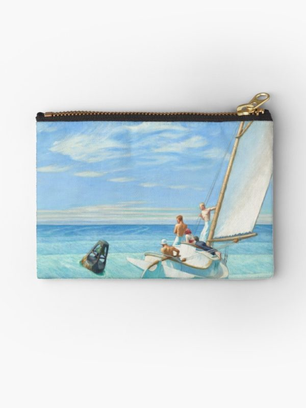 Ground Swell Oil Painting by Edward Hopper Studio Pouches