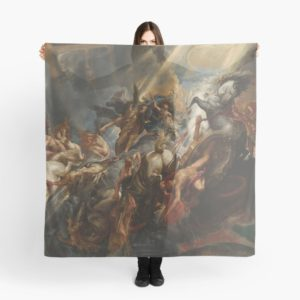 The Fall of Phaeton Oil Painting by Sir Peter Paul Rubens Scarves