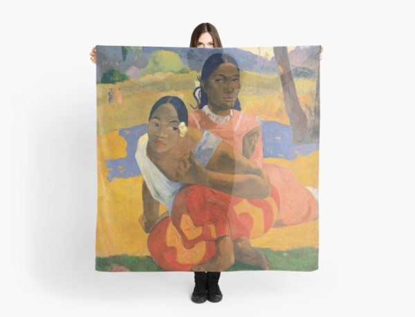 Affordable Art $300,000,000 When Will You Marry by Paul Gauguin Scarves