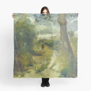 Landscape Between Storms Oil Painting by Auguste Renoir Scarves