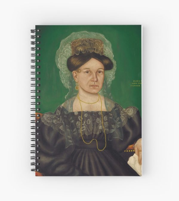 Eliza R. Read Oil Painting by Royall Brewster Smith Spiral Notebooks
