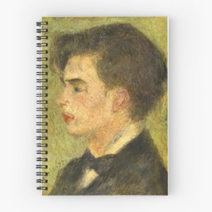 Georges Rivière Oil Painting by Auguste Renoir Spiral Notebooks