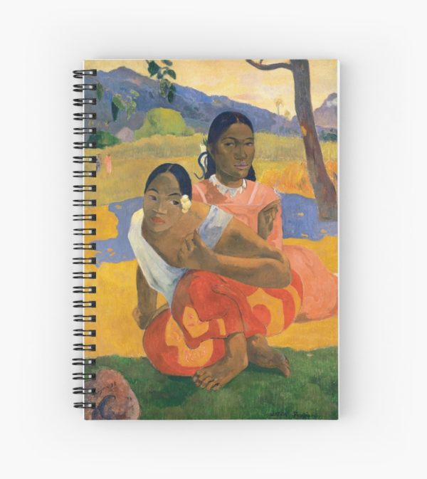 Affordable Art $300,000,000 When Will You Marry by Paul Gauguin Spiral Notebooks