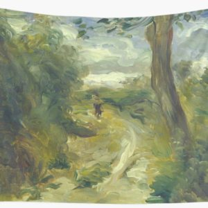 Landscape Between Storms Oil Painting by Auguste Renoir Wall Tapestries