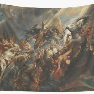 The Fall of Phaeton Oil Painting by Sir Peter Paul Rubens Wall Tapestries