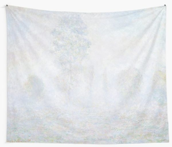 Morning Haze by Claude Monet Wall Tapestries