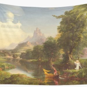 The Voyage of Life Youth Painting by Thomas Cole Wall Tapestries