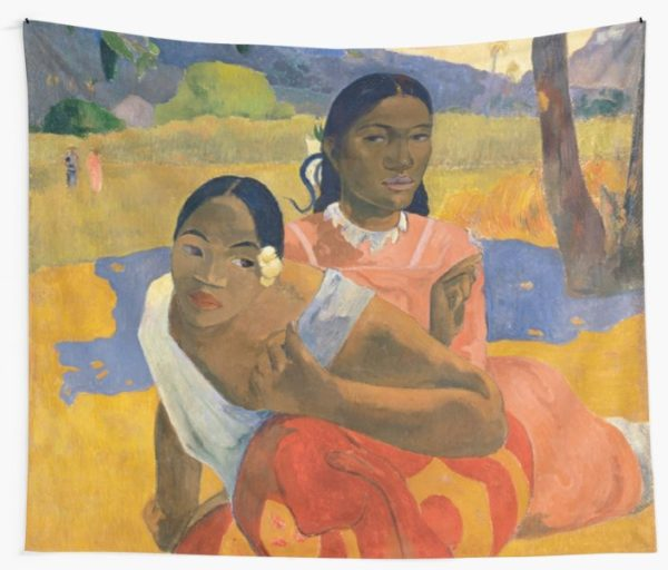 Affordable Art $300,000,000 When Will You Marry by Paul Gauguin Wall Tapestries