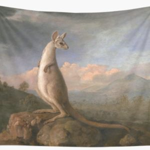 The Kongouro Oil Painting by Australian Artist George Stubbs Wall Tapestries
