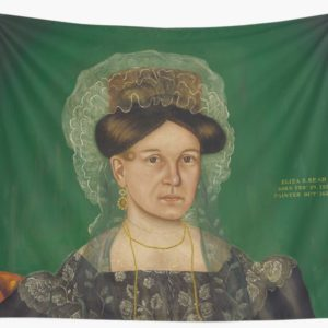 Eliza R. Read Oil Painting by Royall Brewster Smith Wall Tapestries