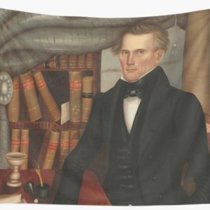 Vermont Lawyer Oil Painting by Horace Bundy Wall Tapestries