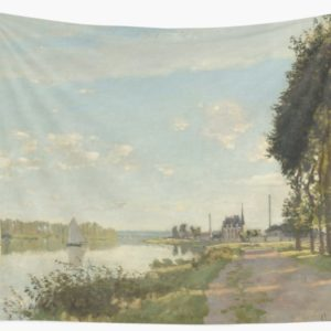 Argenteuil by Claude Monet Wall Tapestries
