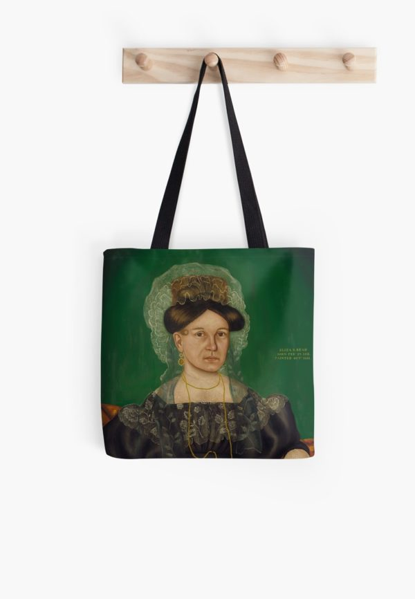 Eliza R. Read Oil Painting by Royall Brewster Smith Tote Bags