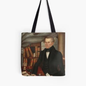Vermont Lawyer Oil Painting by Horace Bundy Tote Bags