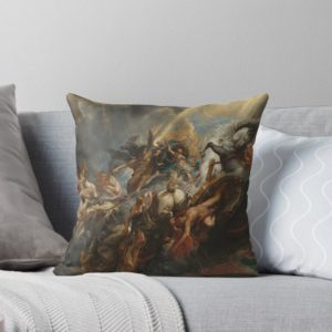 The Fall of Phaeton Oil Painting by Sir Peter Paul Rubens Throw Pillows