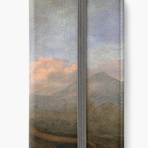 The Kongouro Oil Painting by Australian Artist George Stubbs iPhone Wallets