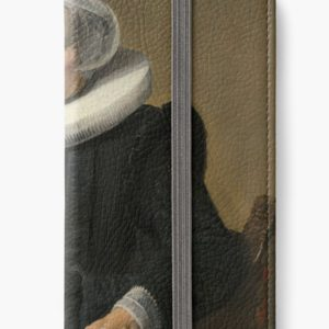 Portrait of an Elderly Oil Painting Lady by Frans Hals iPhone Wallets