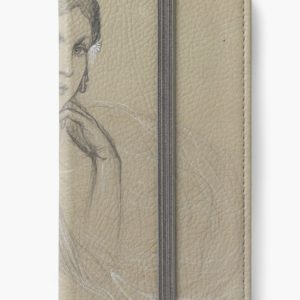 The artists daughter by Jaroslava Drawing iPhone Wallets