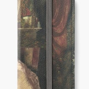 The Proposal Oil Painting by Knut Ekwall iPhone Wallets
