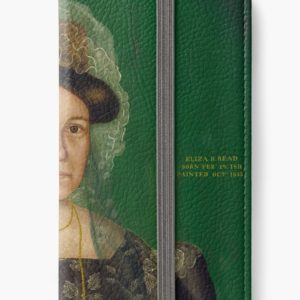Eliza R. Read Oil Painting by Royall Brewster Smith iPhone Wallets