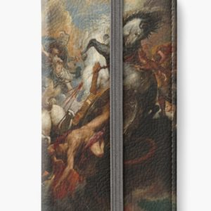 The Fall of Phaeton Oil Painting by Sir Peter Paul Rubens iPhone Wallets