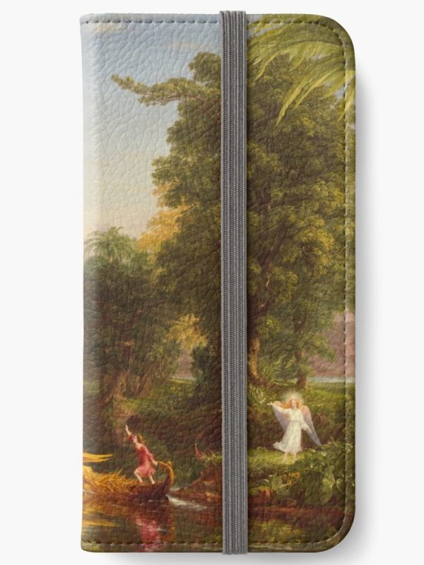 The Voyage of Life Youth Painting by Thomas Cole iPhone Wallets