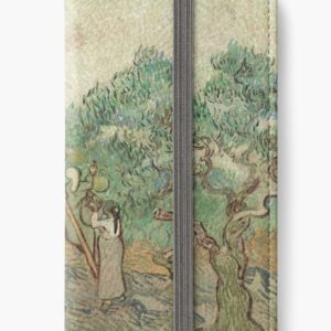 The Olive Orchard by Vincent van Gogh - Classic Art iPhone Wallets