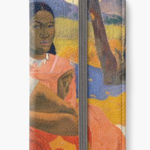 Affordable Art $300,000,000 When Will You Marry by Paul Gauguin iPhone Wallets