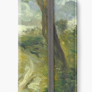 Landscape Between Storms Oil Painting by Auguste Renoir iPhone Wallets