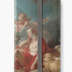 Diana and Endymion Oil Painting by Jean-Honoré Fragonard iPhone Wallets