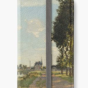 Argenteuil by Claude Monet iPhone Wallets