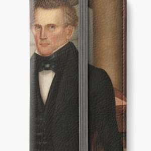 Vermont Lawyer Oil Painting by Horace Bundy iPhone Wallets