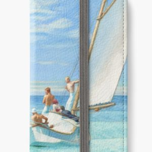 Ground Swell Oil Painting by Edward Hopper iPhone Wallets